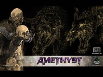 Amethyst Wallpaper by NickGreenwood