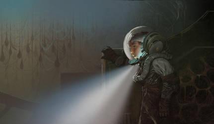 space suit ender FNL FLAT by NickGreenwood