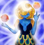 Maxyvert / Moon Goddess / DrawThisInYourStyle by JixSi