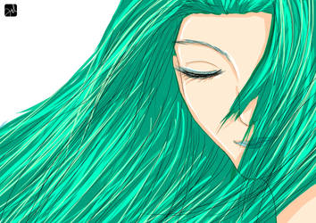 Green Woman by Vanzhoel