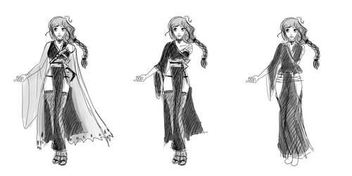 OC Concept Art 2 [Bleach] by Lei-Mizuhime