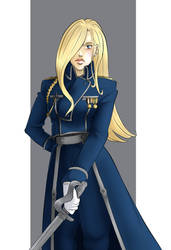 Olivier Mira Armstrong [Prize] by Lei-Mizuhime