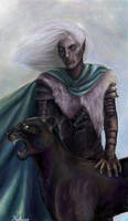 Drizzt Do'Urden by Celtic-a