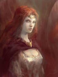 Celtic woman by Manzanedo
