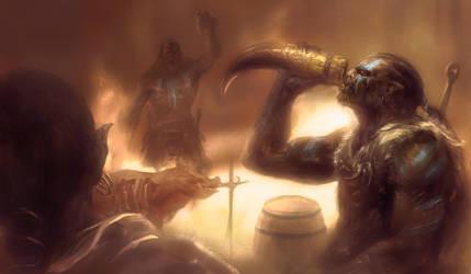 Orcs by Manzanedo