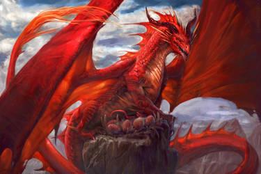 Dragon nest by Manzanedo