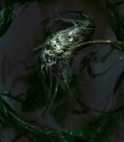 Cosmic horror by Manzanedo