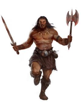 Barbarian by Manzanedo