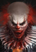 Pennywise by Manzanedo