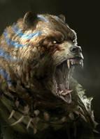 Werebear by Manzanedo