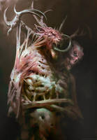 Nameless demon by Manzanedo