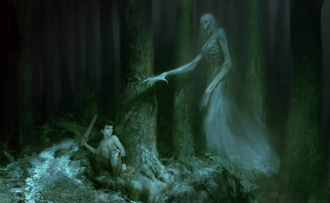 Lost in the forest by Manzanedo