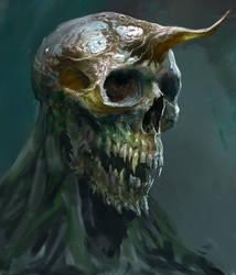 Demon Head by Manzanedo