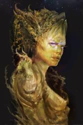 Forest spirit. WIP. by Manzanedo