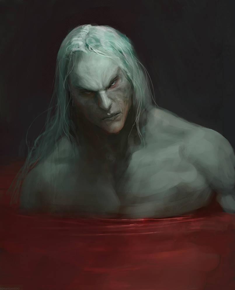 Blood bath by Manzanedo