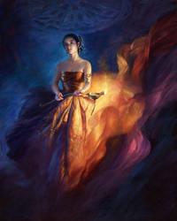 Heavenly Light by jialu