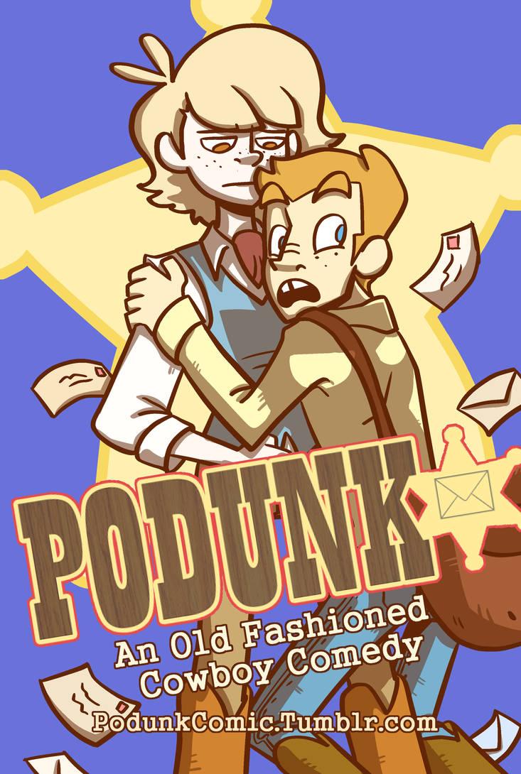 Podunk Postcard by Kootani