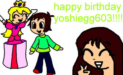 happy b-day yoshiegg603 by MissShadowQueen