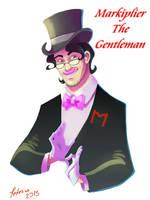 Markiplier The Gentleman by BlackDeadlySpade