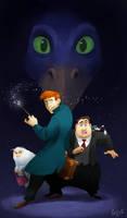 Fantastic Beasts - fanart by BlackDeadlySpade