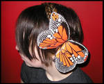 Duct Tape Butterfly Hair Clip by DuckTapeBandit