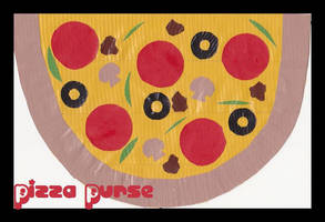 Duct Tape Pizza Purse by DuckTapeBandit