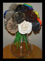 Neutral Roses by DuckTapeBandit