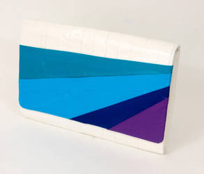 Duct Tape Clutch Striped by DuckTapeBandit