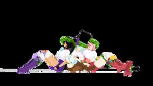  MMD  Aphmau  DL  Summer Girls :3 by Minako24770
