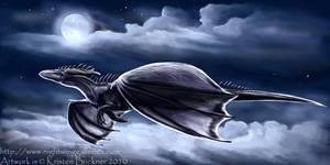 Moonlit Skies by silvermoonnw
