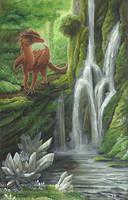 Crystal Falls by silvermoonnw