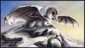 Snowcap Guardian by silvermoonnw