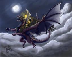 Night Rider by silvermoonnw