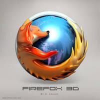 Firefox 3D by DARIMAN