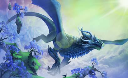 Peak of the Dragon Sanctuary by Ardoric95