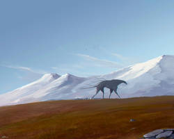 Mountain beast by UzhaZZ
