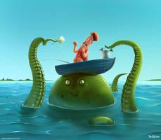 Double Fishin' by UzhaZZ