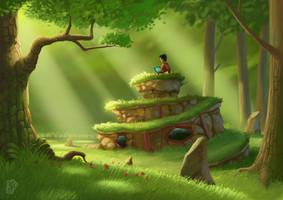 The Hermit by UzhaZZ