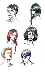 character practice by trealeaf