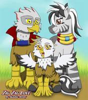 Reagle and Zaza family by Sword-of-Akasha