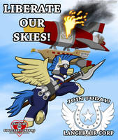 Liberate our Skies by Sword-of-Akasha
