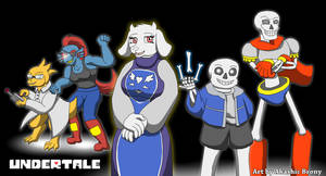 Undertale by Sword-of-Akasha