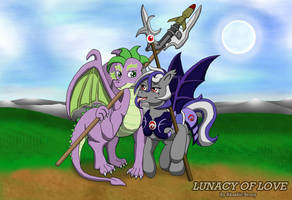 Spike and Nightshade, Sweetest Poison by Sword-of-Akasha