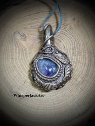 Amethyst necklace pendant by WhisperJack
