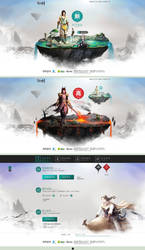 XianJian webpage by onejian