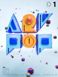 ARTPOP TYPEFACE by onejian