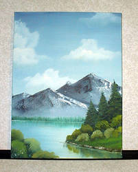 mountain lake by noot