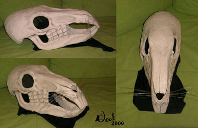 The Grimm Squeaker's Head by noot