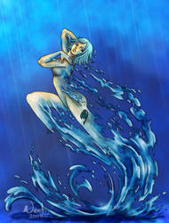 Lady in the water by noot