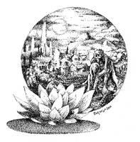 Moon Flower 1 by Jorsoran
